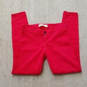 Hollister Red Jeans